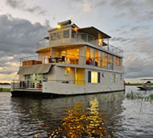 Chobe Princess Houseboat Safari