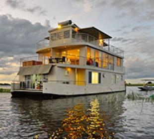Chobe Princess Houseboat Safari
