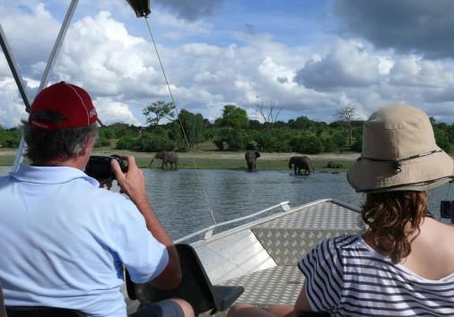 Boat Ride In Chobe