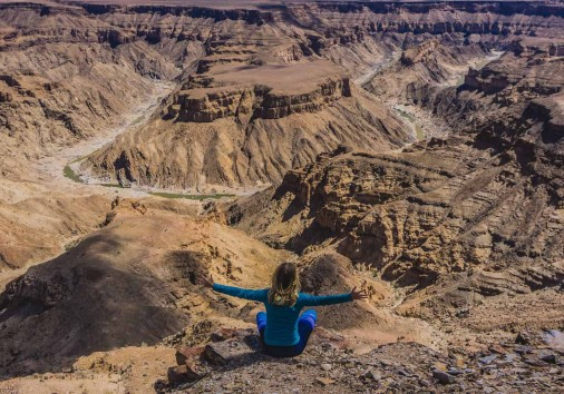 Fish River Canyon, Namibia Spectacular View