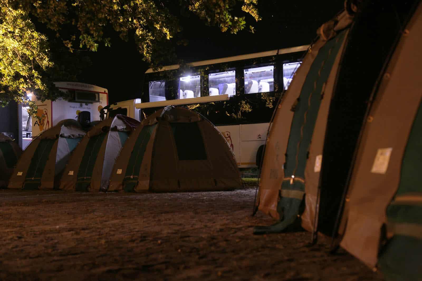 Camping At Night 1