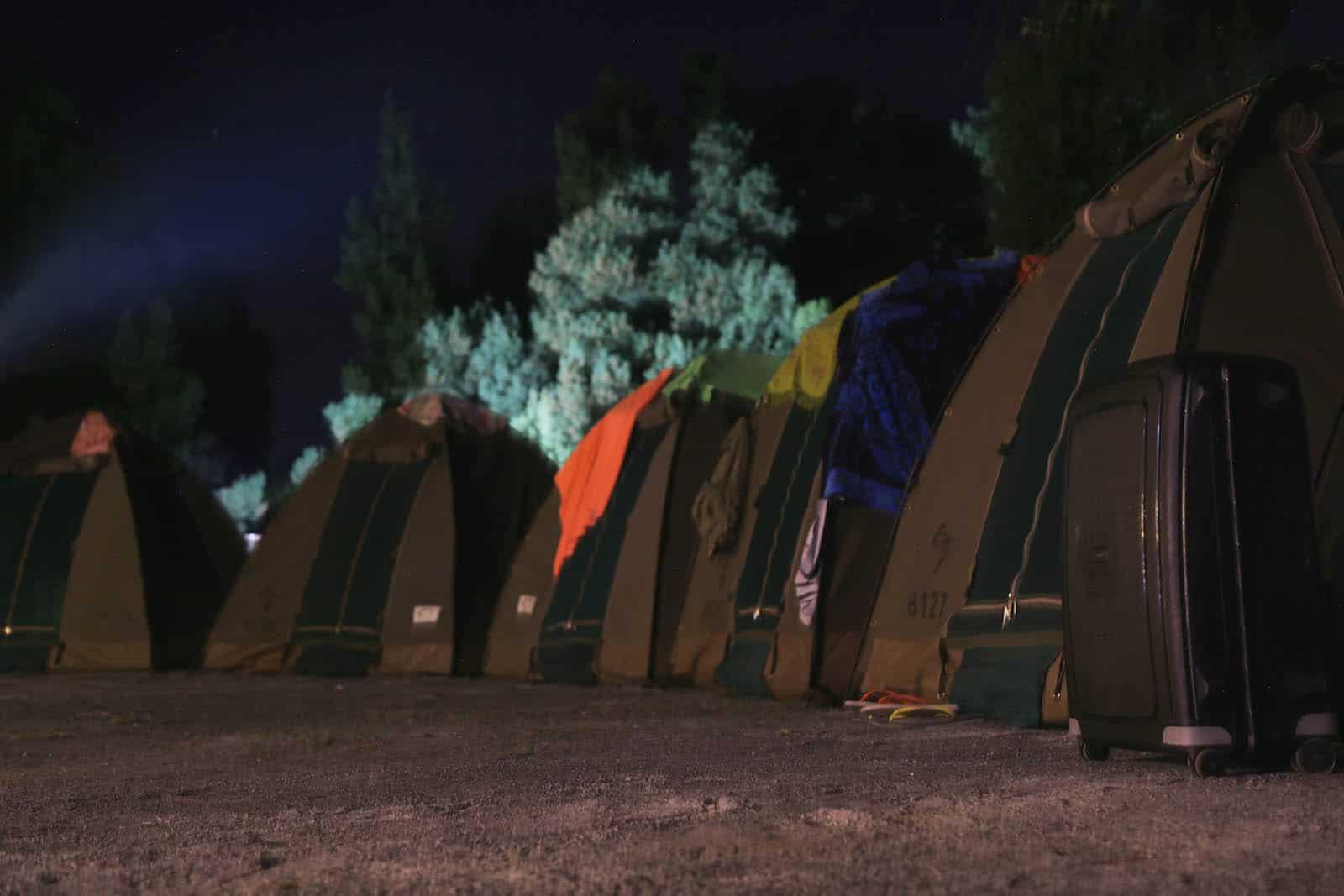 Camping At Night 2