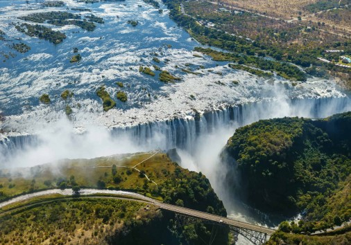 Victoria Falls From The Air (2)