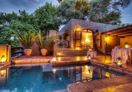 Chobe Game Lodge Honeymoon Suite Private Patio