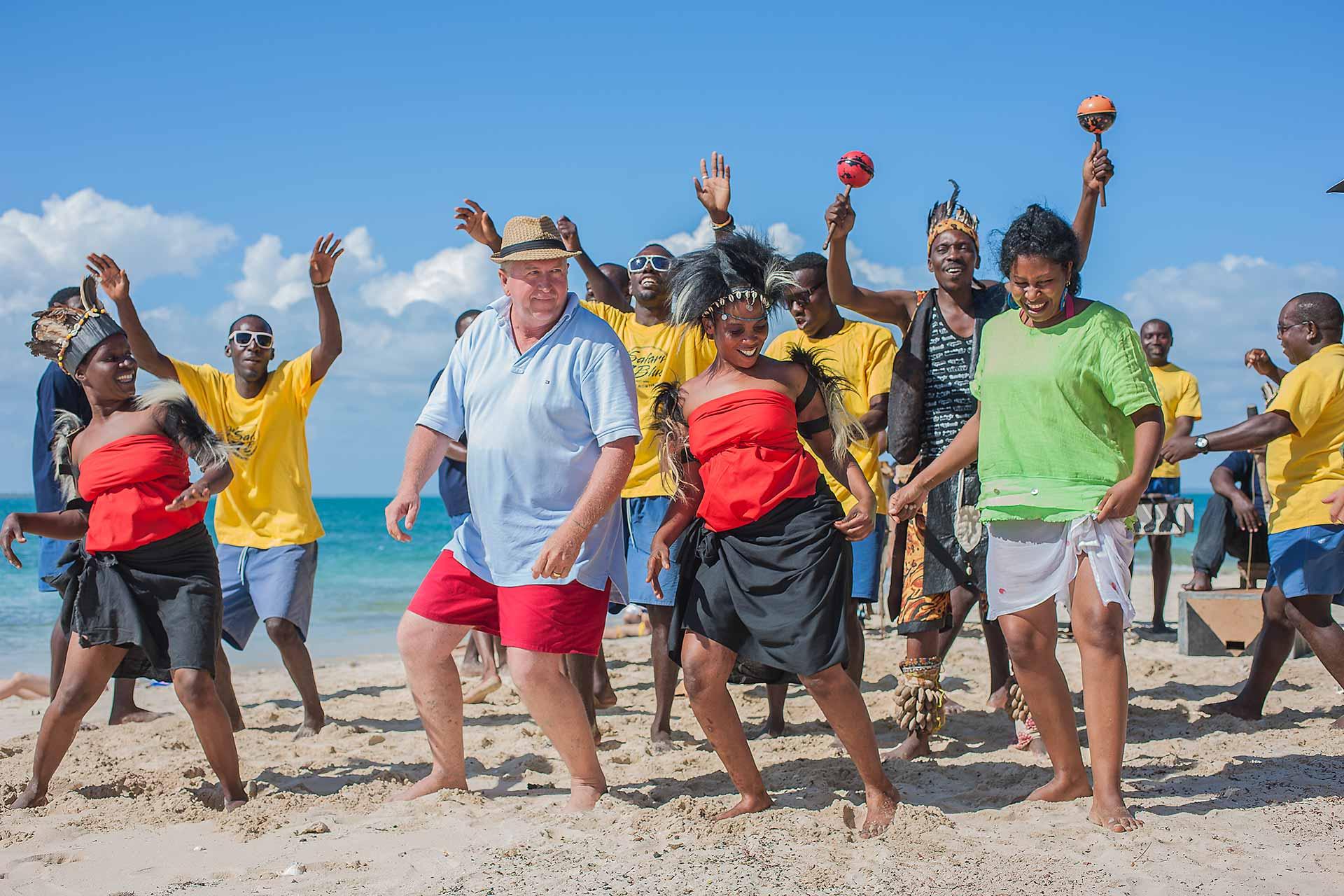 Ocean Safari Traditional Dance