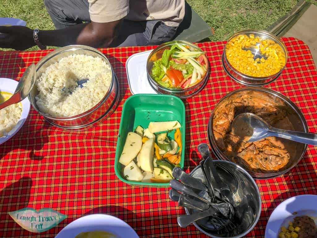 Picnic Lunch At Ngorongoro
