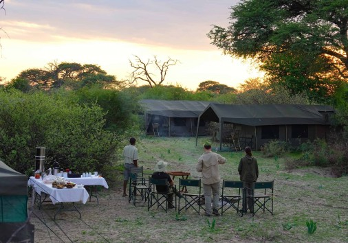 Brave Africa Camp Sunrise