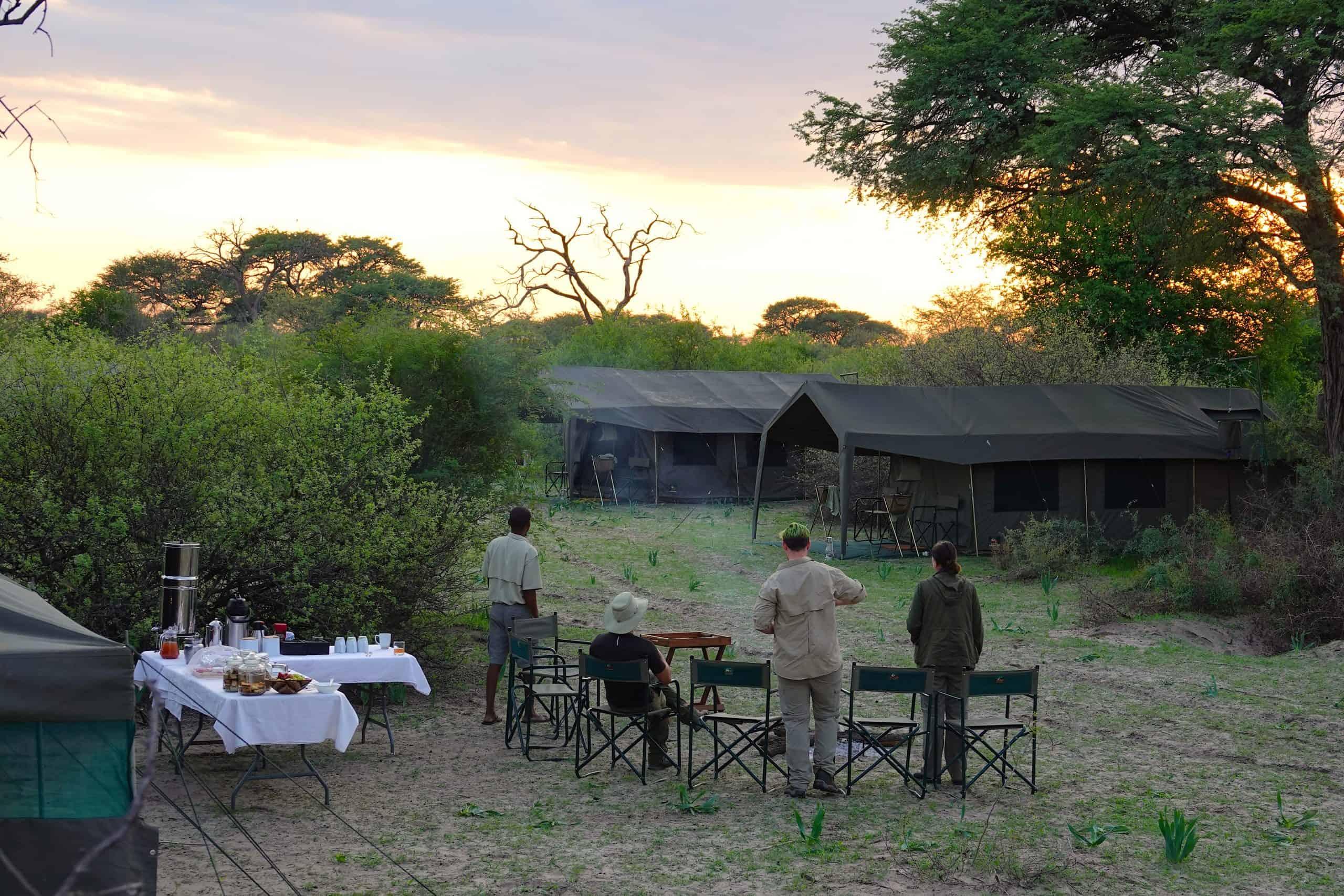 Brave Africa Camp Sunrise