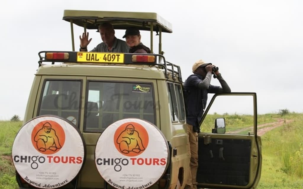 Chigo Tours Game Drive, Arshley And Clients