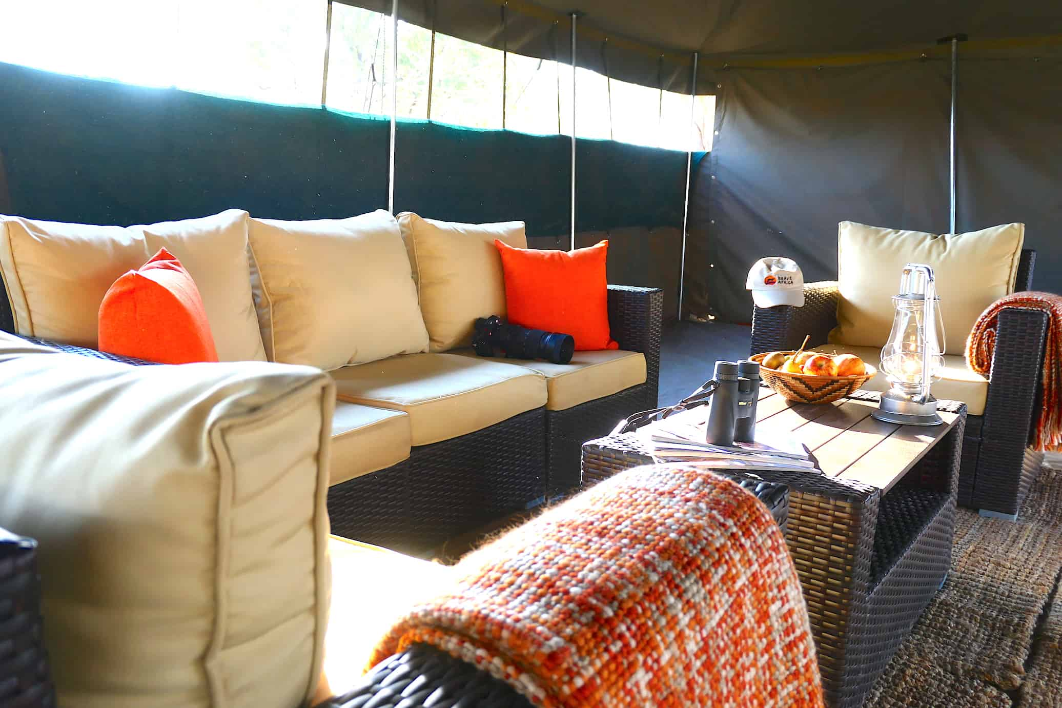 Main Tent Seating Area