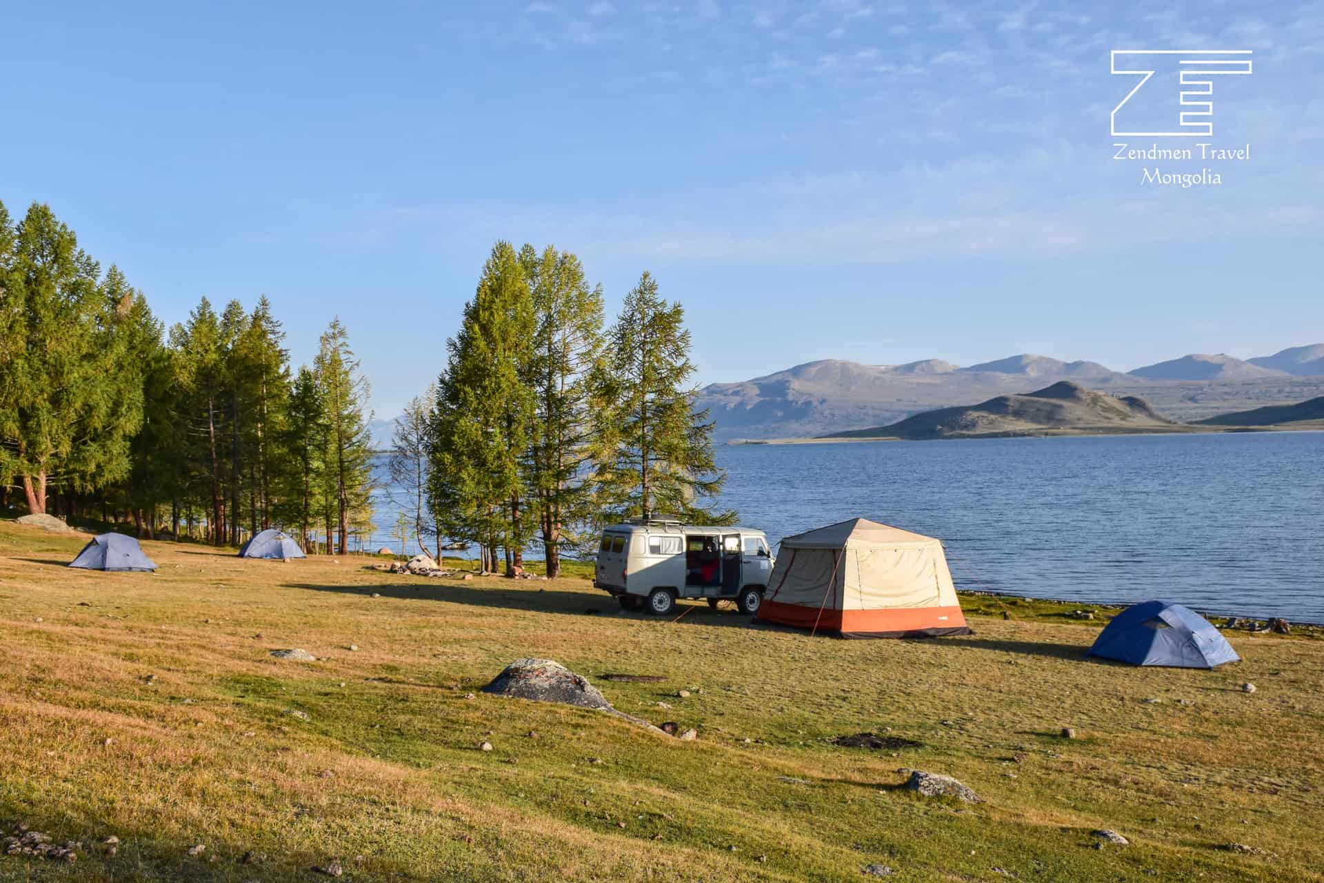 Camping In Western Mongolai