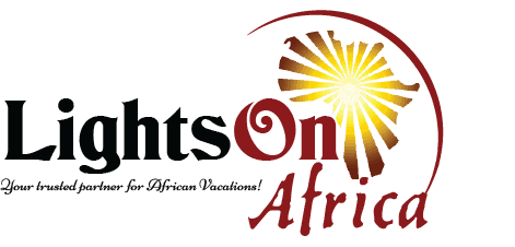 Lights on Africa