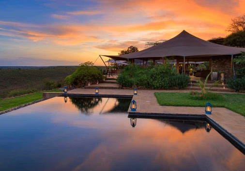 Elewana Loisaba Tented Camp Accommodation Infinity Pool