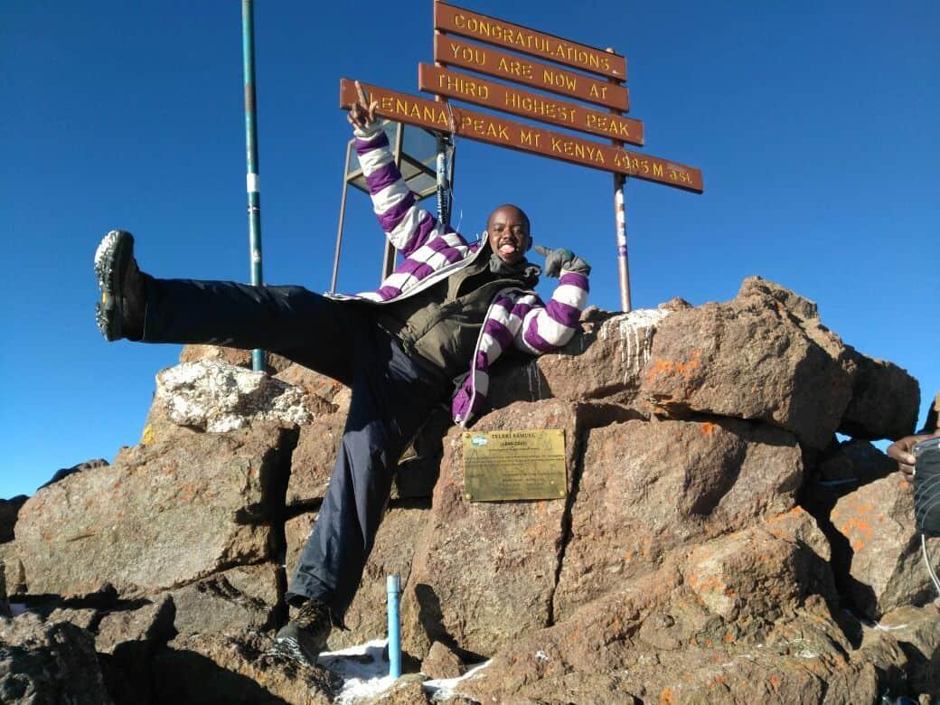 Kamlee At The Summit