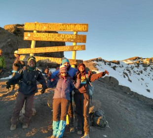 6-Day Kilimanjaro Marangu Itinerary