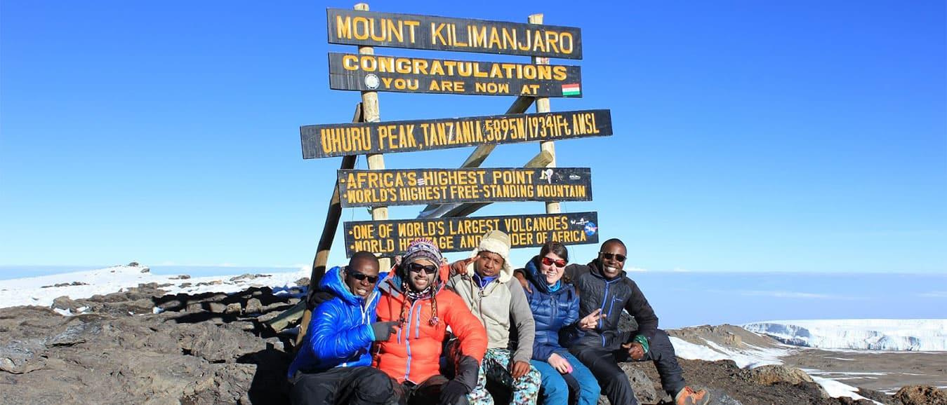 Mt Kilimanjaro Peak