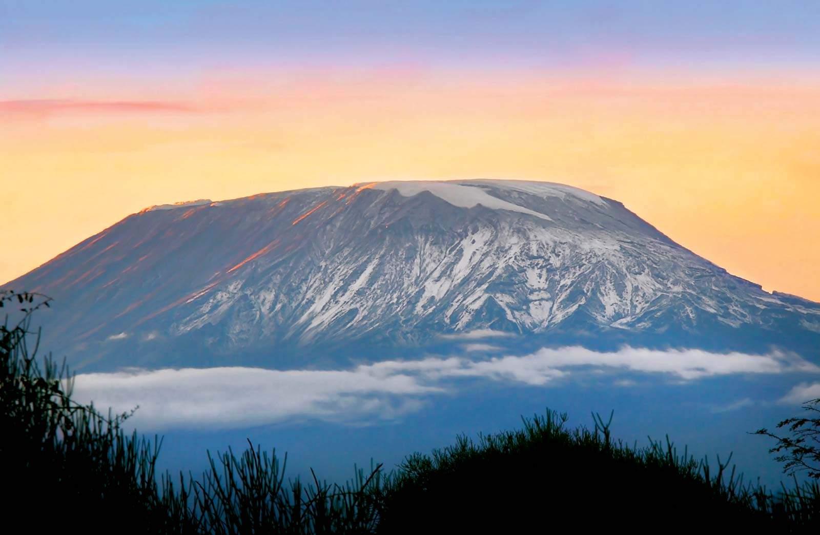Sunrise Mount Kilimanjaro Tanzania