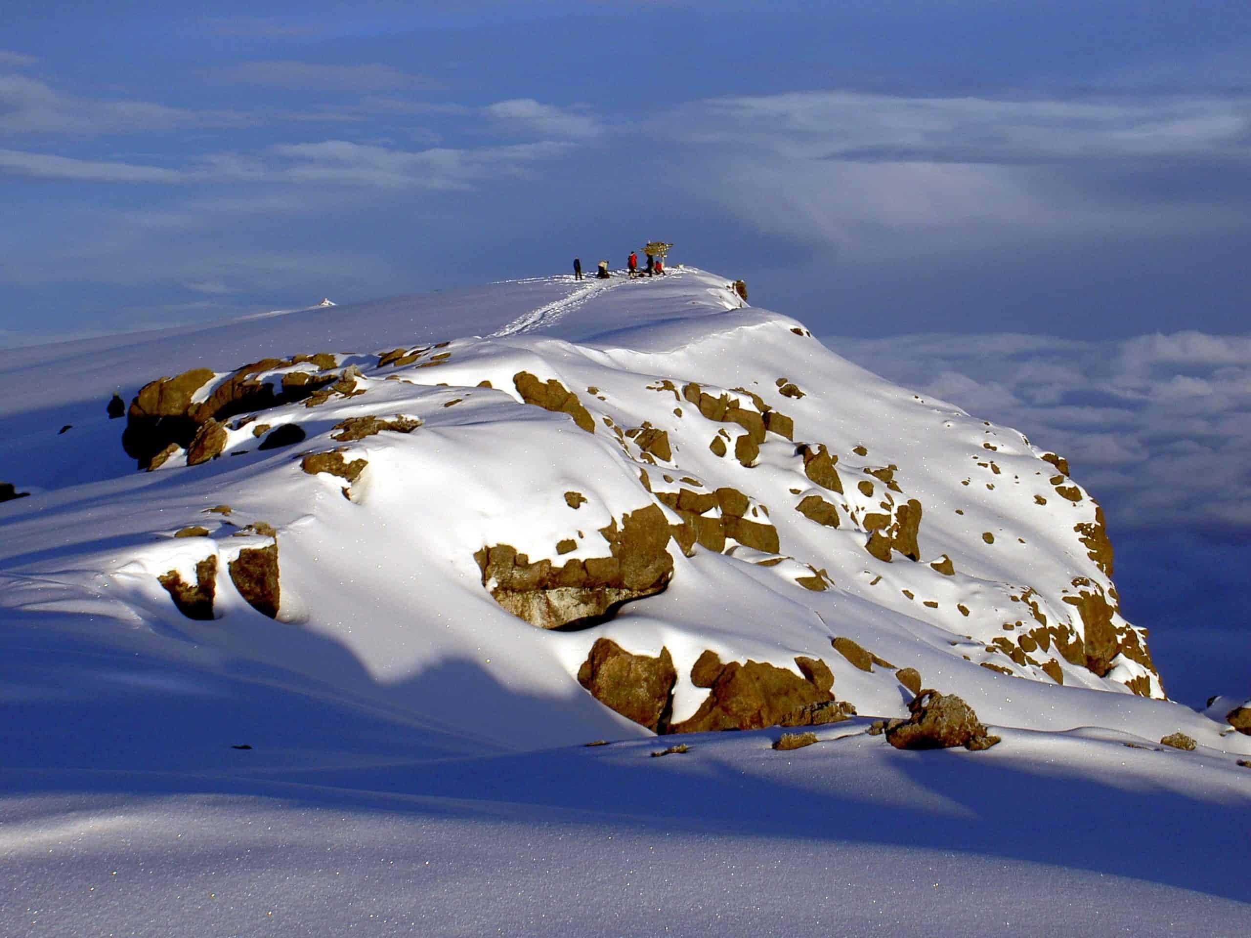 Uhuru Peak Mt. Kilimanjaro 1