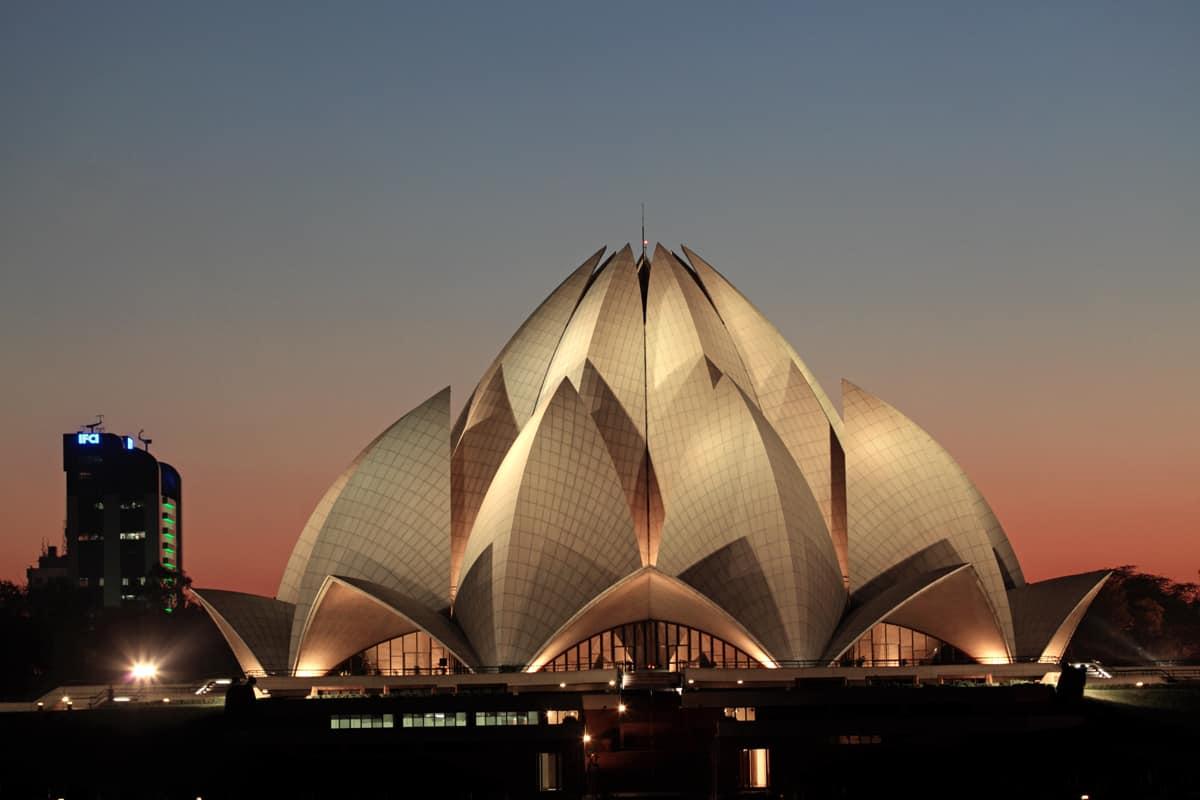 Delhi Bahai Lotus Temple 0