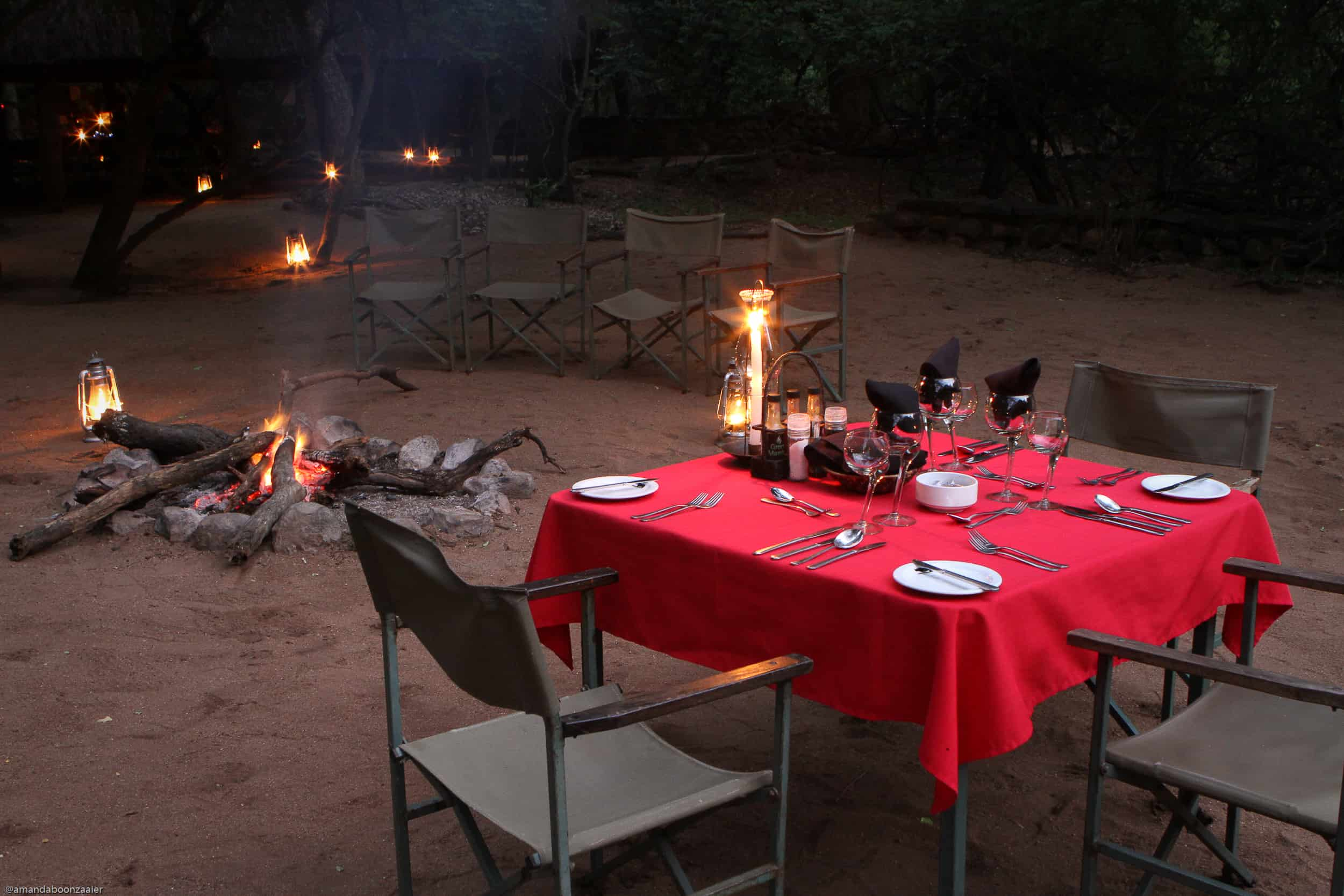 Dining Provided Big Game Parks, Swaziland