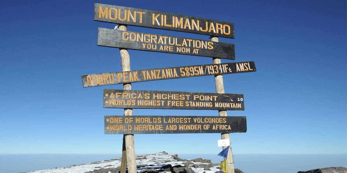 Mt Kili Packages 25
