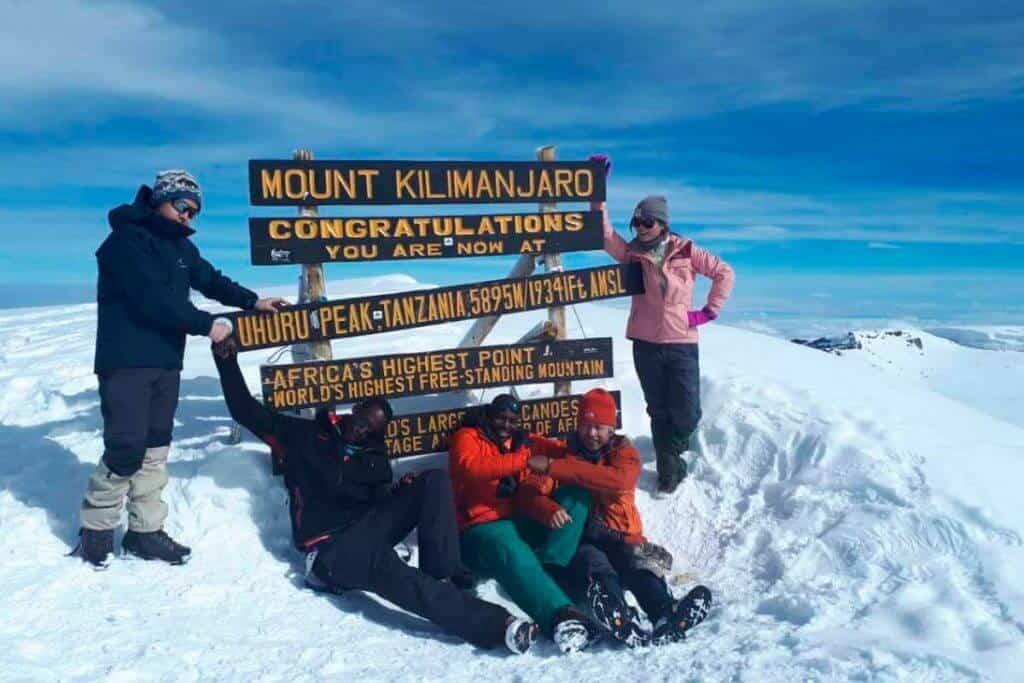 Snowfall Mount Kilimanjaro Tanzania Crampons 2 1024x683
