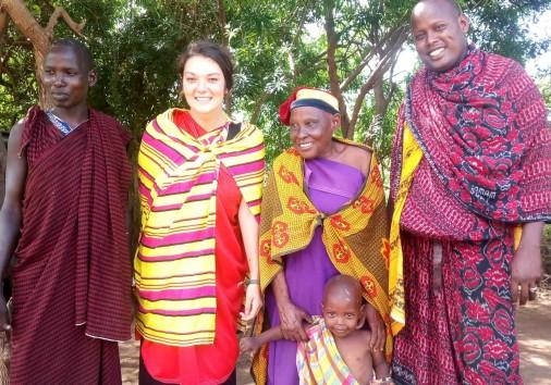 Kilimanjaro For Charity Godson Charity Volunteer In Moshi (60)