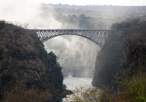 The Bridge Over The Zambezi River Victoria Falls