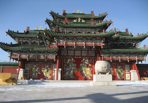 Bogd Khaan Winter Palace