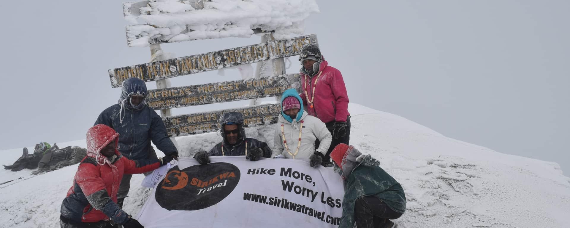 Sirikwa Hiking Kilimanjaro