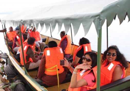 Guests On A Boat Ride (2)