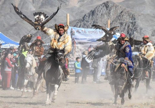 Eagle Hunters Openning Cermony