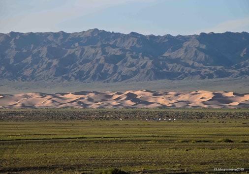 Khongor Sand Dunes.