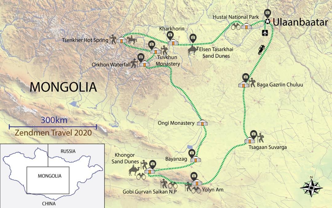 The Gobi Desert Big Circuit