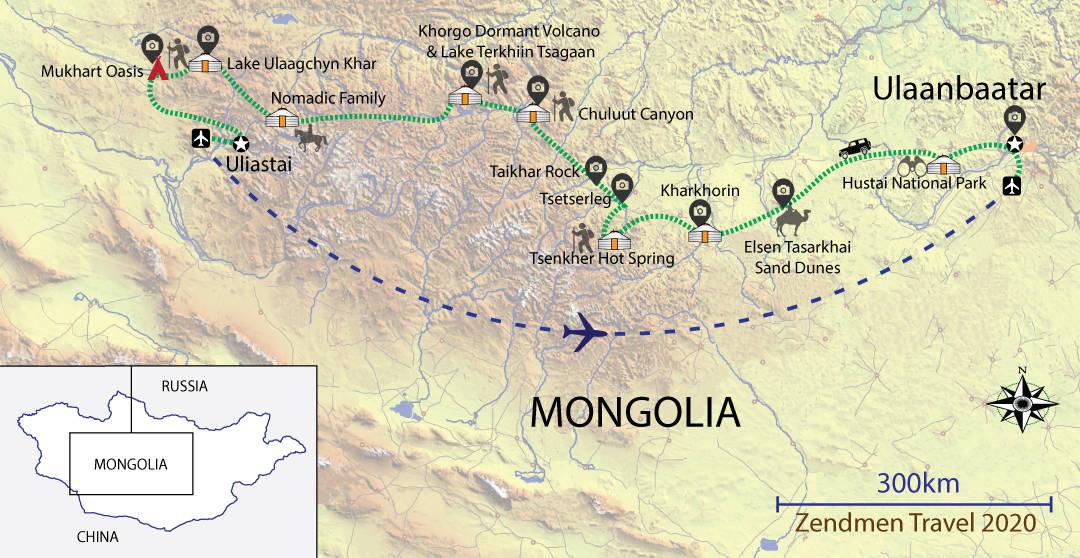 Zavkhan Land Of Nomads Map