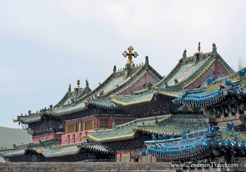 Roof Of Erdene Zuu Monastery