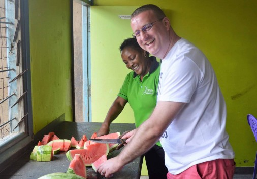 1. One More Bite One Horizion Spare Day In Nairobi Safari A Humanitarian Journey Where Travellers Play A 'hands On' Role In Forging Change.