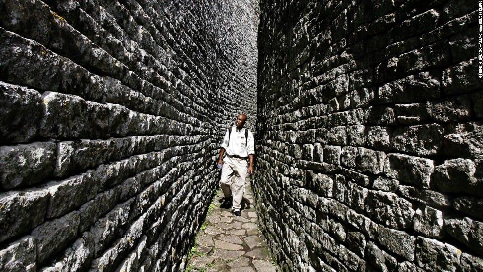 140127172343 Great Zimbabwe Tourist Visiting Ruins Horizontal Large Gallery