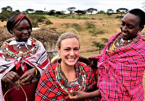 28, Dressing Like A Masai