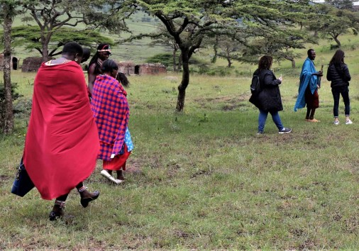 38. Walking With The Masai