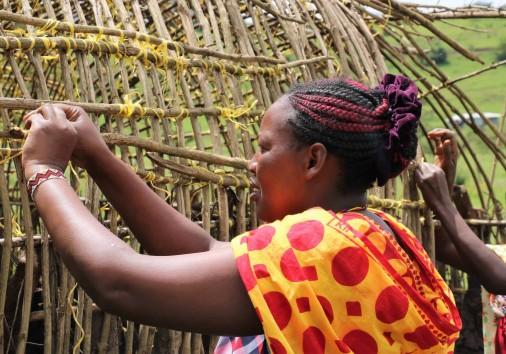 44. Building A Manyatta Is A Community Job