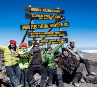 Mount Kilimanjaro Climbing Via Machame Route