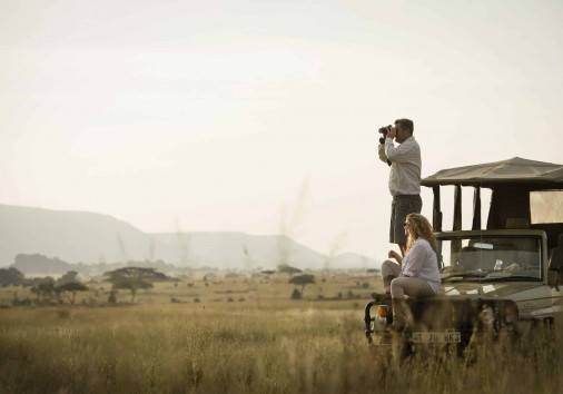 Dunia Camp Game Drive Vehicle Lookout Hr Eliza Deacon