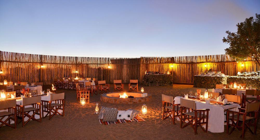 Imbali Safari Lodge Boma Dinner