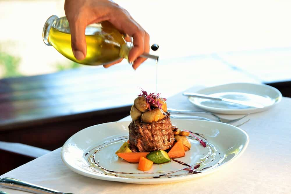 Imbali Safari Lodge Dining