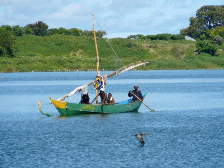 Lake Victoria Traditional Fishing Boat