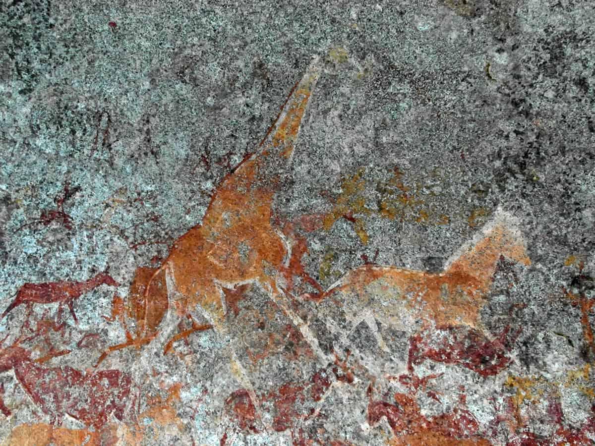 Matopo Hills Nswatugi Cave Rock Paintings 10 1200