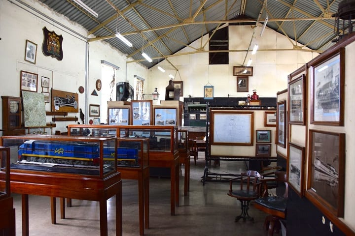 Nairobi Railway Museum Displays