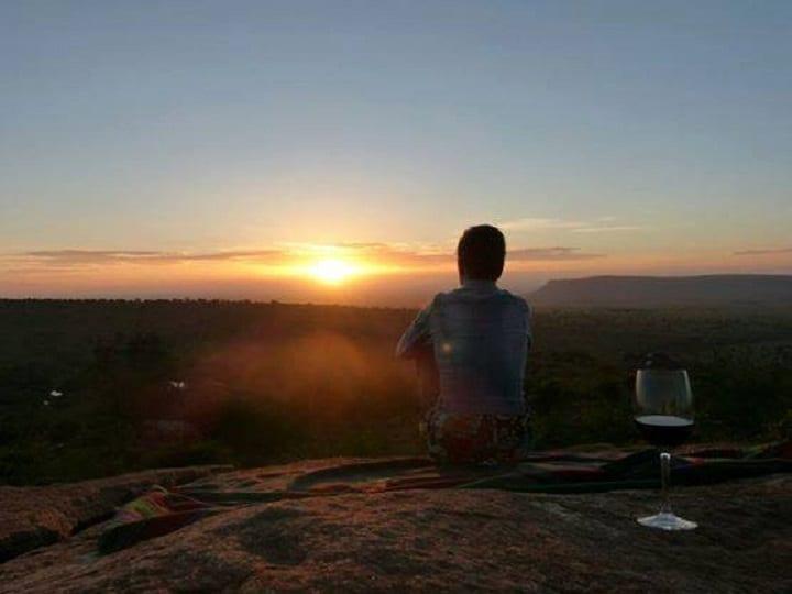 Sundowner In The Mara