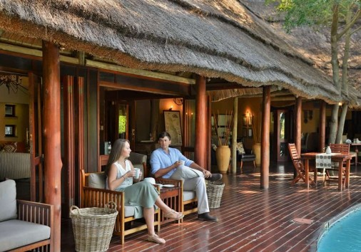 Imbali Safari Lodge Deck 2